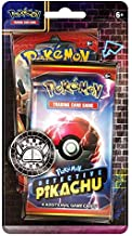 Pokemon TCG: Detective Pikachu Booster Pack + 1 Sun & Moon Booster Pack + A Metallic Coin (Single Pack)