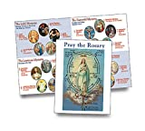 Religious Gifts How to Pray The Rosary Instructional Pamphlet, Pack of 100