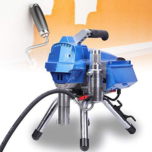 Spruzzatrice airless 3,5L/min Macchina di spruzzatura airless del motore senza spazzola del controllo elettronico della pressione di 23 mpa