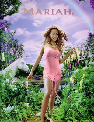 Mariah Carey 2000 Rainbow Tour Concert Program