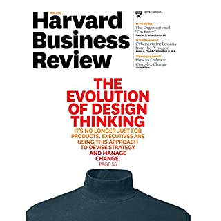Harvard Business Review, September 2015 cover art