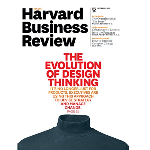 Harvard Business Review, September 2015 audiobook cover art