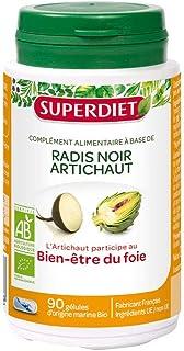 Super Diet Organic Black Radish Artichoke 90 Capsules