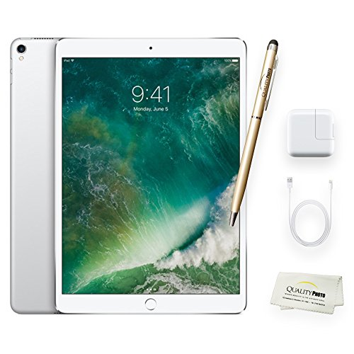Apple iPad Pro 10.5 Inch Wi-Fi + Quality Photo Accessories (Latest Apple Tablet) 2017 Model. (64 GB, Silver)