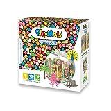 PlayMais WINDOW Animales set de manualidades para niños a partir de 3 años I 2300 piezas de colores formato mosaicol I estimula la creatividad y la motricidad I regalo para niñas y niños