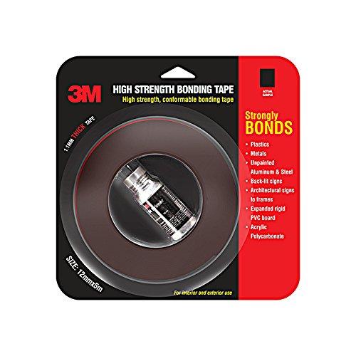 3M IA120100531 Hi Strength Bond Tape (12 mm x 5 m 1 Roll + Primer)
