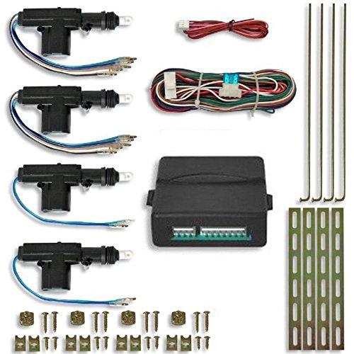 JOM 7104-5 Universal Auto Funk Zentralverriegelung Steuereinheit 2/4 türer 4 Stellmotoren Set