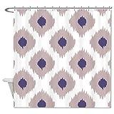 Rioengnakg Punkte Muster Duschvorhang, Polyester Textil, 1, 60