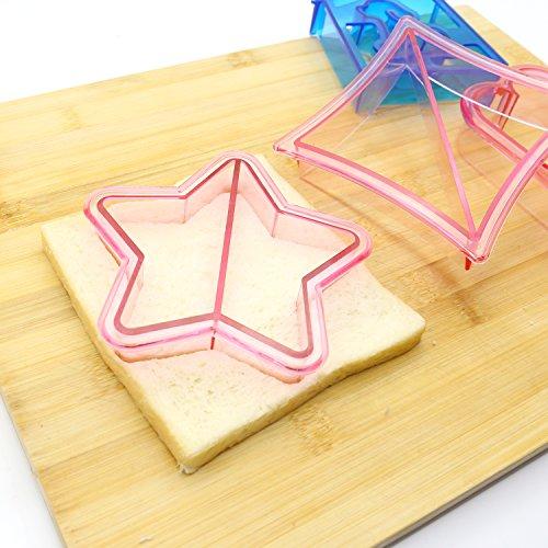 Ausstecher-Set für Sandwiches, Kekse und Brote - 5