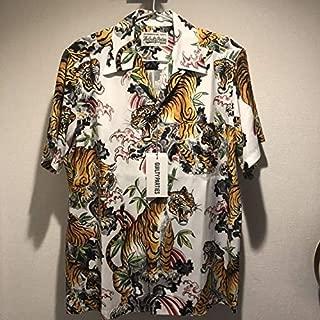 wackomariaワコマリア × TIM LEHI 半袖 開襟 虎柄アロハシャツ Sサイズ