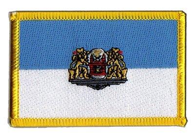 Aufnäher Patch Flagge Lettland Riga - 8 x 6 cm