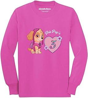 Official Paw Patrol Skye 3rd Birthday Toddler/Kids Long Sleeve T-Shirt