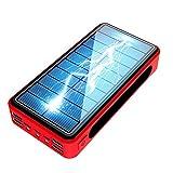 LFLDZ Banque d'alimentation sans fil, haute capacité 30 000 mAh, chargeur sans fil Qi, chargeur...