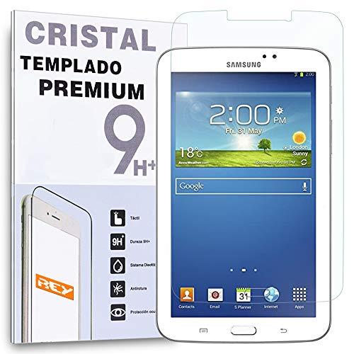 REY Protector de Pantalla para Samsung Galaxy Tab 3 7
