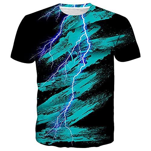 SSBZYES Camiseta para Hombre Camiseta De Gran Tamaño para Hombre Camiseta Estampada con Cuello Redondo Camiseta De Manga Corta Estilo Verano Splash Ink Camiseta De Manga Corta Informal para Hombre