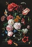 REINDERS Stilleben Blumen in Vase Jan Davidsz de Heem Poster - Papier - Groß Format 61 x 91,5 cm - Bunt