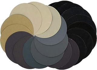 KOURO 耐水ペーパー セット サンドペーパー 丸型 紙やすり 125mm 24枚 (各4枚 2500 3000 4000 5000 7000 10000)