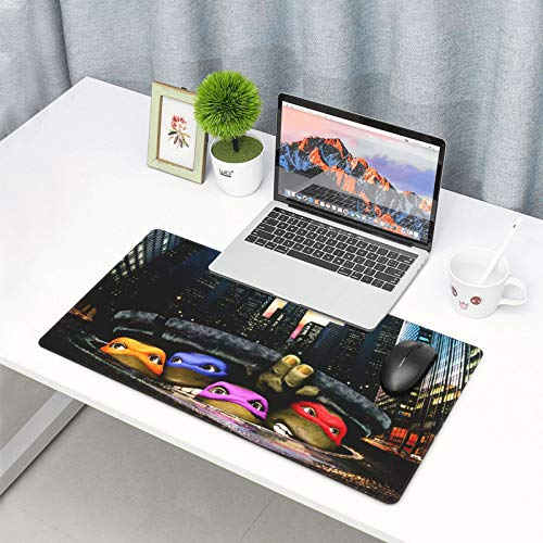 """Mouse Pad Nin.Ja Turtles Large Gaming Mousepad Extended Desk Mat Ultra Thick Mousepad for Office Gamer Home 29.5""""X15.8"""" Photo #8"""