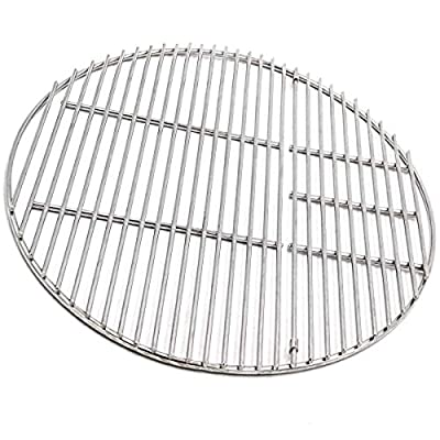 BBQSTAR Grill Grate 18-inch Round Stainless Steel Cooking Grate for Large Big Green Egg, Vision, Kamado Joe Classic Joe Series Kamado Ceramic Charcoal Grills