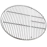 18-inch Round Stainless Steel Grill Grate Cooking Grid for Large Big Green Egg, Vision, Kamado Joe Classic Joe Series Kamado Ceramic Charcoal Grills