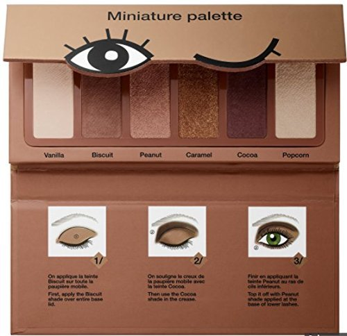 Sephora Collection Miniature Palette - Mini palette di ombretti tonalità biscotto