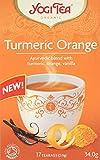'Yogi Tea Turmeric Orange 17 Tea Bags, 34 g