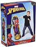 Hedstrom Spider-Man Bop Inflatable Punching Bag, 42', Red