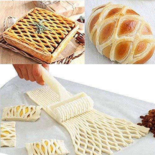 a-goo Pizza Maker Pizza Teig Roller Gitter Roller Ei Tart Form Fondant Roller Pizza Peel Kuchen Ball Roller Fondant Cutter Streifen Formstanzer Roller Rad Set Sugarcraft Kuchen, DIY Form