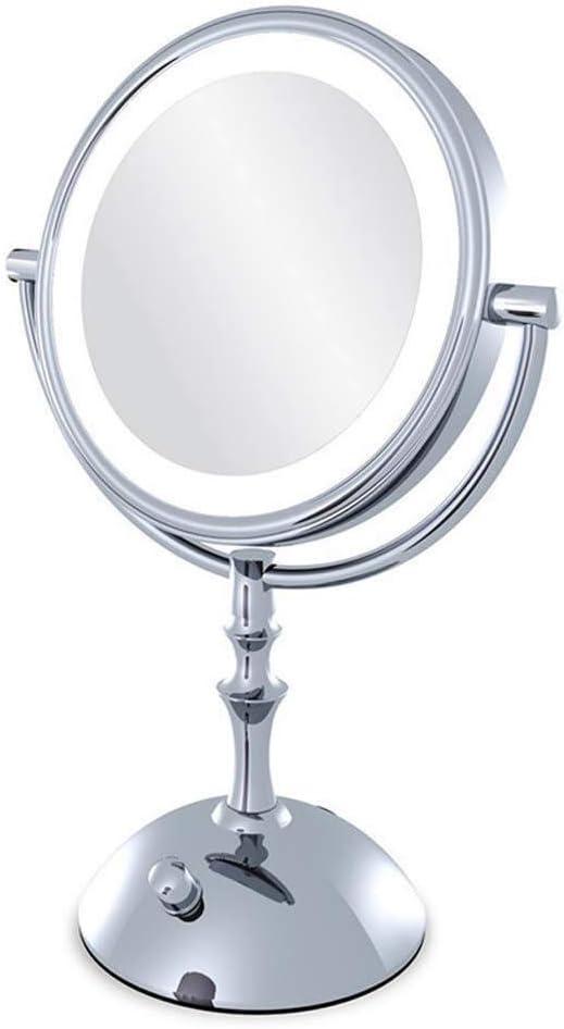 discount Bright Mirrors Desktop Illumination Makeup M Metal Washington Mall 360°