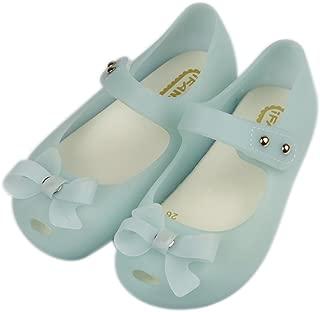 Women Girls Cute Bow Slip On Loafers Princess Mary Jane Flats