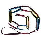 Omabeta Cuerda De Escalera, Cuerda De Anillo Peso Ligero Estructura Simple Fabricación Profesional para Escalada En Roca para Actividades Al Aire Libre