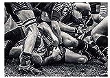 ZYHSB Puzzle 1000 Pièces Rugby Gros Plan Affiches Bois Jouets pour Adultes Jeu De Décompression Py229Cd
