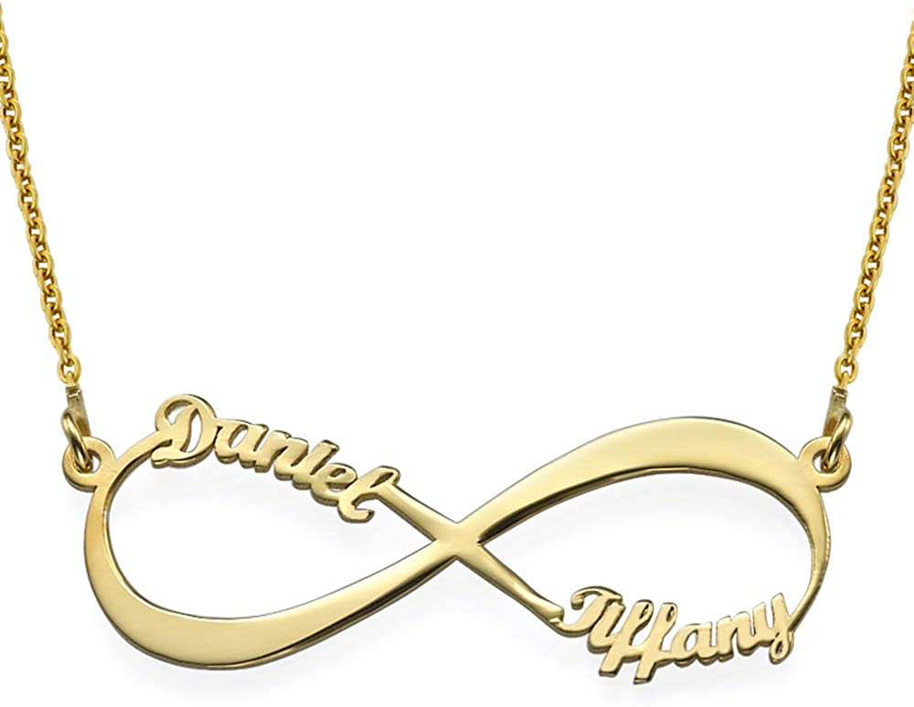 MyNameNecklace Personalized Infinity Pendant Necklace low-pricing Name Selling rankings Love