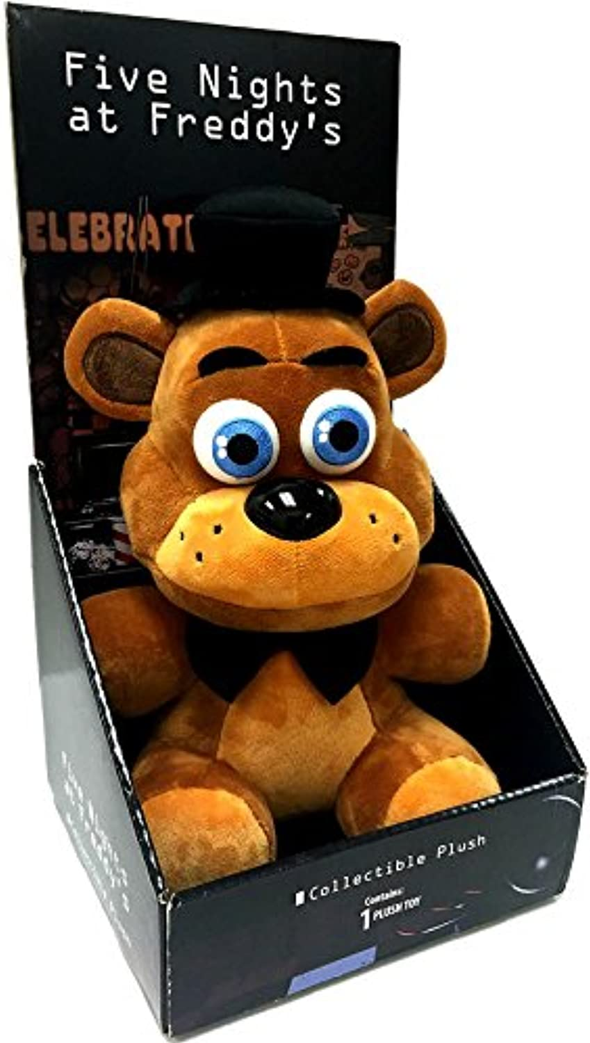 Five Nights at Freddy's Officially Licensed 10  Boxed Freddy Fazbear Plush Toy