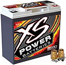 XS Power S680 'S Series' 12V 1,000 Amp AGM Automotive Starting Battery with Terminal
