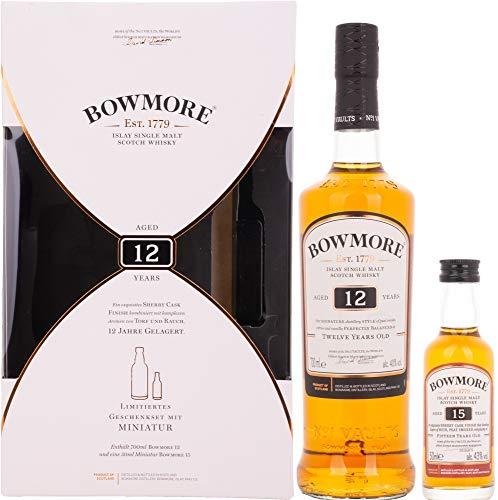 Bowmore 12 Years Old Islay Single Malt Scotch Whisky  Whisky  (1 x 0.75 l)