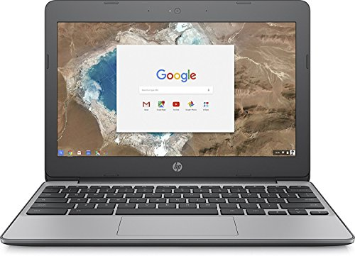 "2018 HP 11.6"" HD IPS Touchscreen Chromebook with 3x Faster WiFi - Intel Dual-Core Celeron N3060 up to 2.48 GHz, 4GB Memory, 16GB eMMC, HDMI, Bluetooth, USB 3.1, 12-Hours Battery Life (Renewed)"