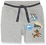 NAME IT Baby-Jungen Nmmpawpatrol Reggie Unb SWE LIC Shorts, Grau (Grey Melange), (Herstellergröße: 98)