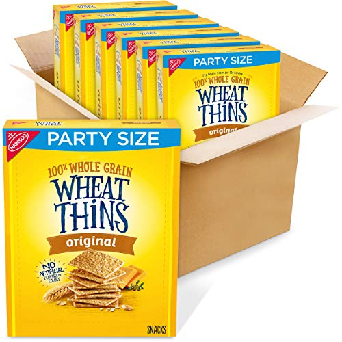 Wheat Thins Original Whole Grain Crackers Party Size 20 Oz Boxes , 6 Count -  AmazonUs/MOQ4F