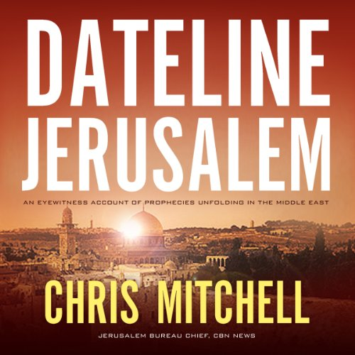 Dateline Jerusalem audiobook cover art