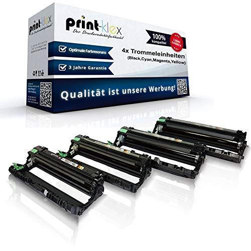 4x Kompatible Trommeleinheiten für Brother MFC9130CW MFC9140CDN MFC9142CDN MFC9330CDW MFC9332CDW MFC9340CDW MFC9342CDW DR241 DR-241 Drum Kits - Easy Office Serie