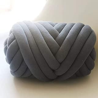 big yarn blanket arm knitting