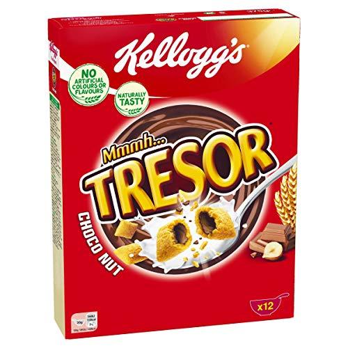 Kellogg's Mmmh Tresor Choco Nut, 7er Pack (7x 375 g)