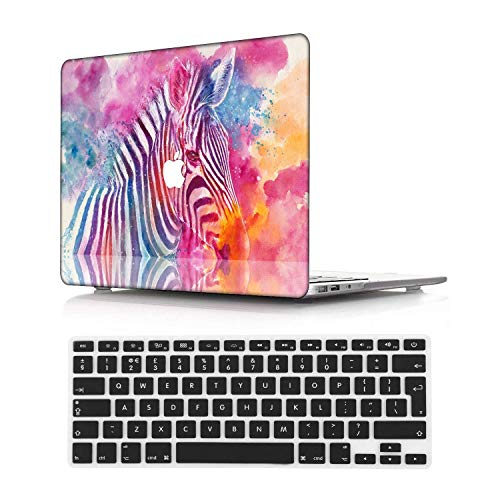 NEWCENT New MacBook Pro 13' Case,Plastic Ultra Slim Light Hard Case UK Keyboard Cover for Mac Pro 13 with/Without Touch Bar 2020 Release(Model:A2289/A2251),Animal A 230