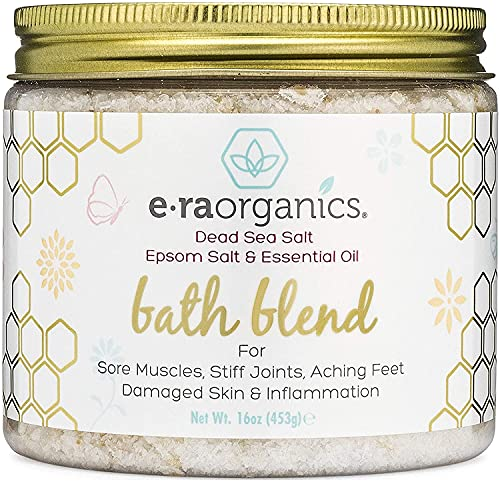 Relaxing Bath Salts & Essential Oils – Extra Soothing...