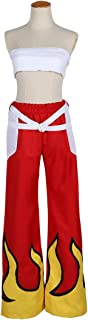 HOLRAN Women's Fairy Tail Erza Scarlet Cosplay Combat Costume
