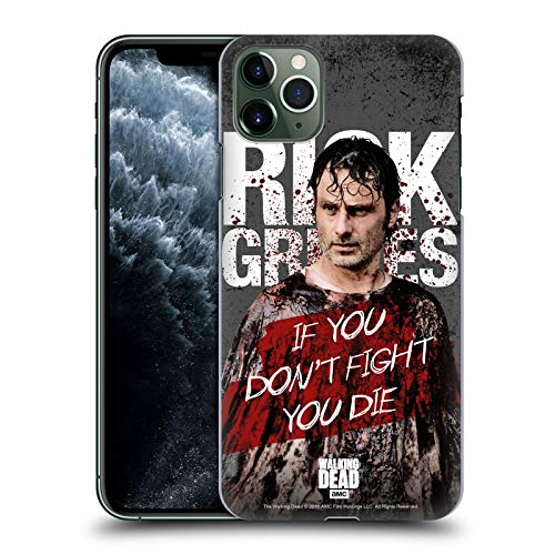 Officiële AMC The Walking Dead Bloedige Poncho Rick Grimes Legacy Hard Back Case Compatibel voor Apple iPhone 11 Pro Max