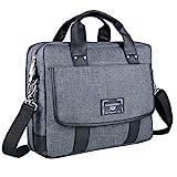 17.3 Inch Large Laptop Briefcase Messenger Shoulder Bag Fit for Dell XPS 17 9700, Precision 5750 7750, Inspiron 17 3785 3797, G7 17 7700, for Alienware m17 R3, R2, for Alienware Area 51m R2