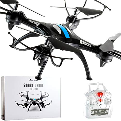 CHIPMUNKK Quadcopter Drone Remote Control and Flying for Beginners. A Perfect Beginner Mini RC Helicopter. Best Drones Toy Air Quad Copter