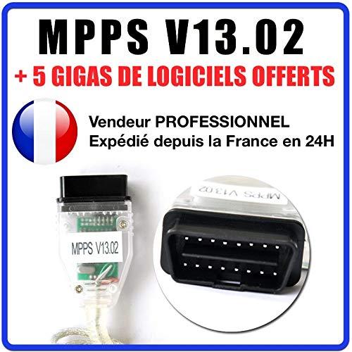 MISTER DIAGNOSTIC Koffer Interface MPPS V13.02 OBD OBD2 Flash Tuning + Software MPPS V16